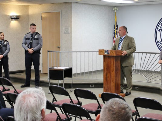 Manchester PD Swearing-In