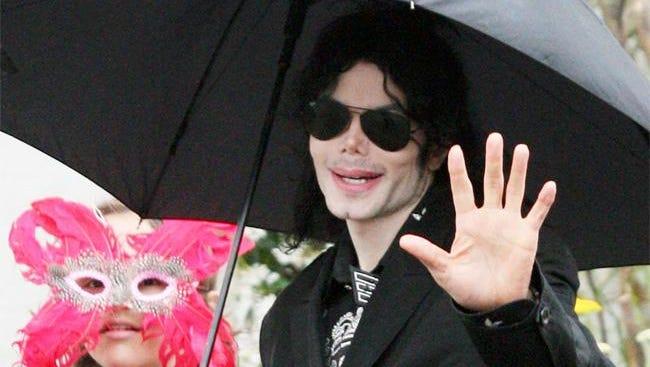 Michael Jackson in 2009