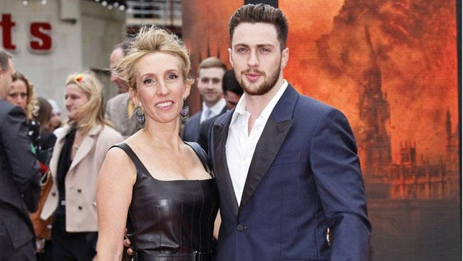 Sam and Aaron Taylor-Johnson.