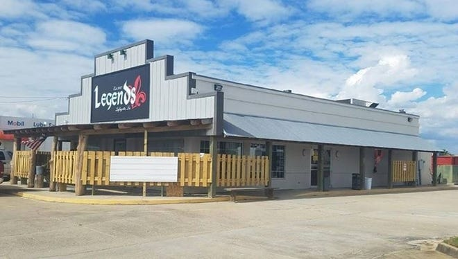 Exterior shot of the new Legend's location on Pinhook.