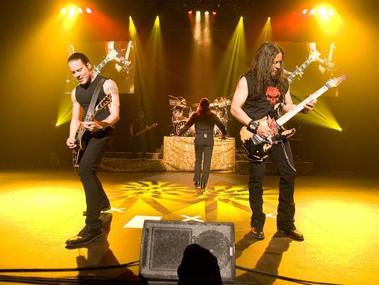 Queensrÿche performs at Dodge Theatre on Saturday, May. 30, 2009, in Phoenix.
