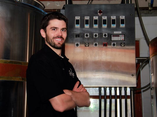 Grant Pauly is founder and brewmaster at 3 Sheeps Brewing Co., Sheboygan.