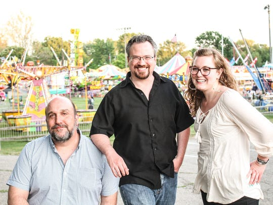 The Roustabout Theatre team, from left: artistic director