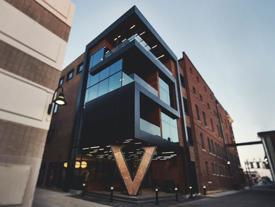 The swanky Hotel Vandivort is the site of the Party of the Year, a New Year's Eve fundraiser for the History Museum on the Square.