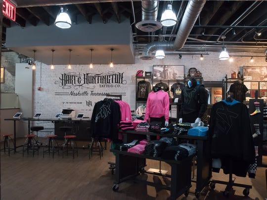Carey Hart opens tattoo shop in downtown Nashville