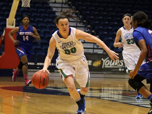 March 4, 2017 - GSC Women's Basketball Tournament - Semifinal - West Georgia vs West Florida