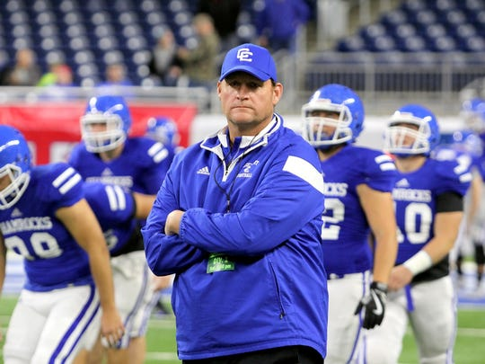 New Novi Detroit Catholic Central football coach Dan
