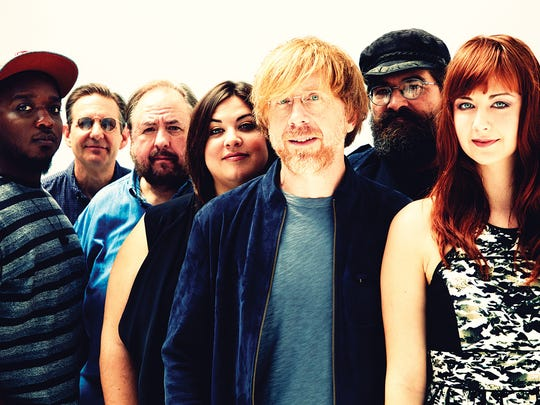 The Trey Anastasio Band closes out this year's Grand Point North festival Sept. 17 in Burlington.