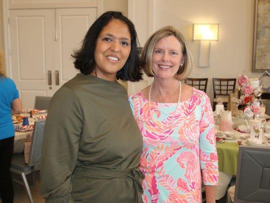 Suriya Ahktar and Linda Chastain
