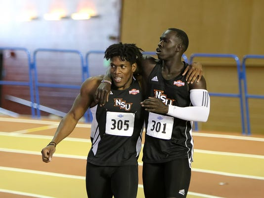 February 23, 2017 - Southland Conference 2017 Indoor Track and Field Championship - Birmingham Crossplex, Birmingham, Alabama