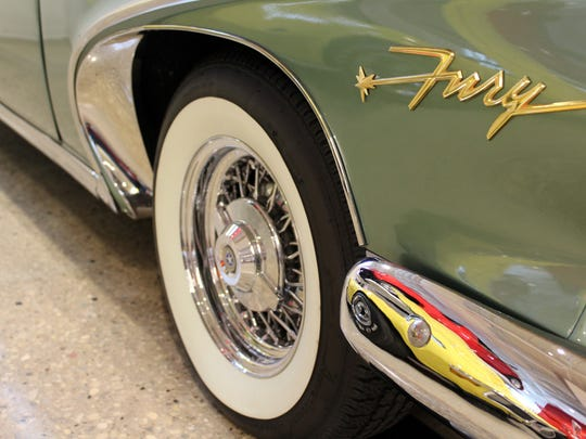 The mix of production years, colors, styles and models – Plymouth Fury to DeLorean – make for an eclectic collection.