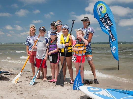 Paddle Second Chance's 2017 event will feature an Elite 5.0, Open 2.5 mile and Sprint 1.0 mile long SUP and Kayak race course.