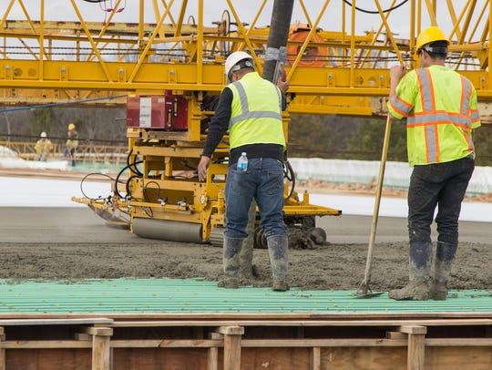 Bridge work for the new Golden Bear Gateway scheduled