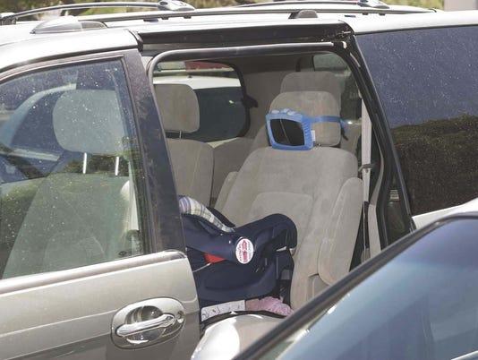 Child Hot Car Empty Car Seat