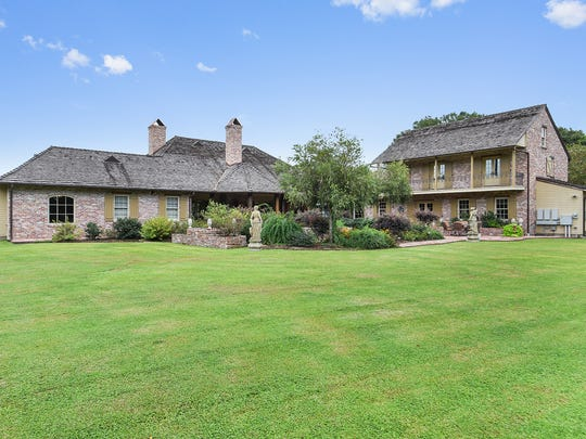 This estate sits on more than 5 acres in Youngsville, La.