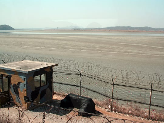 A demarcation line has separated North and South Korea since the Korean War armistice in 1953. DMZ tours began in the 1960s.