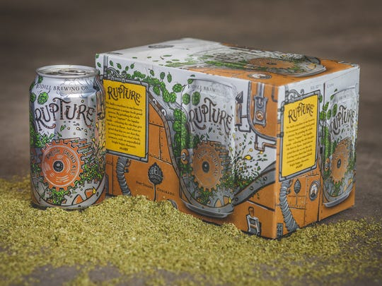 Odell Brewing has released a new year-round beer called Rupture.