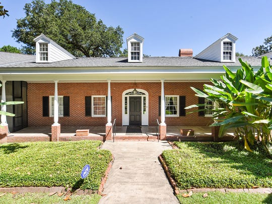 The historic home was built for the Billeaud family