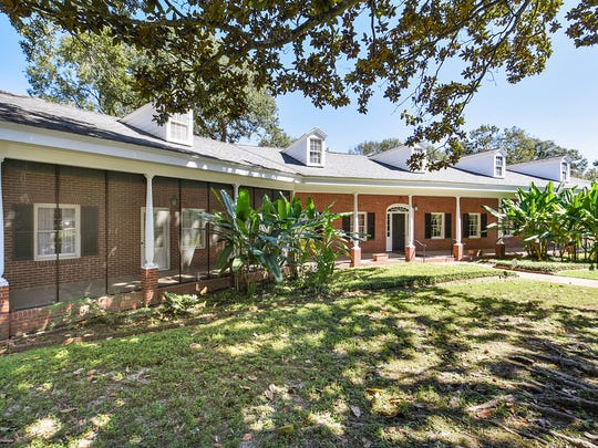 The home sits on almost an acre in Girard Park.