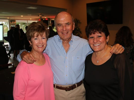 Ceci and Stan Crippen, from left, and AnnMarie Napolitano