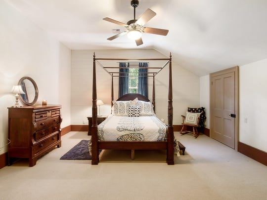 The bedrooms are large and spacious.