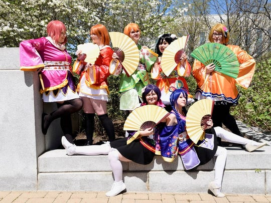 The Japan-America Society of Tennessee's annual Cherry Blossom Festival is held at Nashville Public Square Park in April.