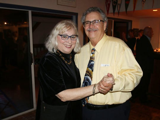 Carol and Paul Amaru at the Fort Pierce Jazz & Blues