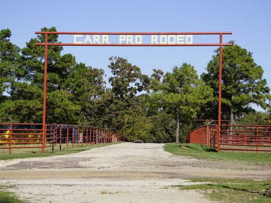 The Pete Carr Pro Rodeo ranch is in Athens, Texas. The stock contractor serves 25 rodeos a year.