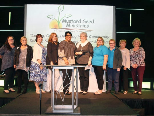 Members of the Mustard Seed Ladies Auxiliary, from