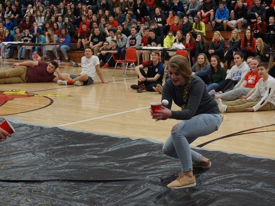 Last year's National FFA Week Ag Olympics got a lot of participation from the high school students.  The egg toss was one of the activities that will be coming back for this year's competition