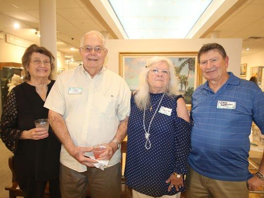 A.E. Backus Museum Board of Associates members Yvonne