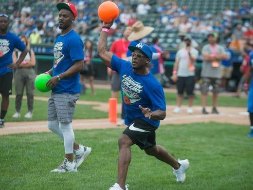 Celebrity softball game roster 2019