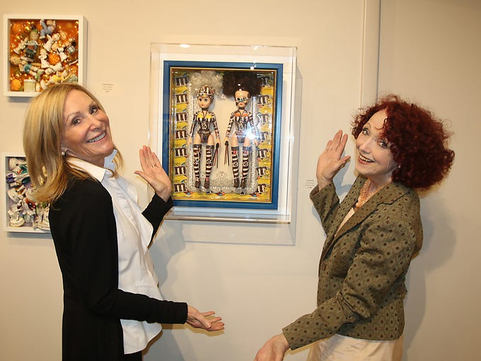 """Annie Banks and Debbie Terrio at the """"Just Four Fun"""""""