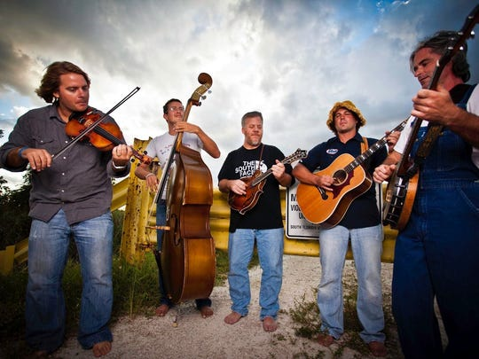 Uproot Hootenanny is scheduled to play at the Red, White & Kickass Bluegrass Fest this weekend at Summer Crush Vineyard & Winery north of Fort Pierce.