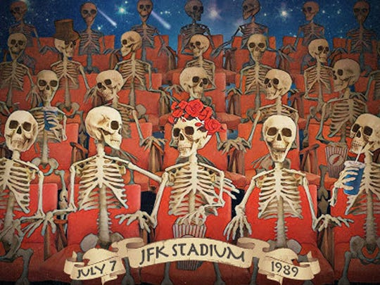 "Are you a Dead Head? Of course you are. See the Grateful Dead in front of thousands of fans on a summer day in 1989 when the in-concert film ""The Meet-Up"" is shown at 7 p.m. Wednesday at The Movies at Governor's Square. Lead guitarist Jerry Garcia died in August 1995. Tickets are $13.44. Visit www.fandango.com."