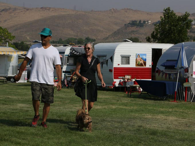 Hot August Nights Vintage Trailer Revival at Rancho