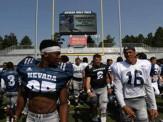 premium selection 71297 2e62f Nevada Wolf Pack football: Scrimmage, 'Fan Fest' is Saturday