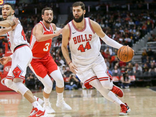 NBA: Chicago Bulls at Atlanta Hawks