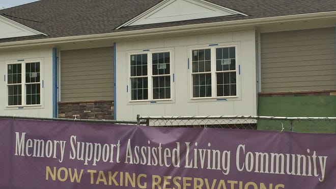 Symphony at Cherry Hill, an Alzheimer's facility, is expected to open in August at the former site of the Coastline restaurant.
