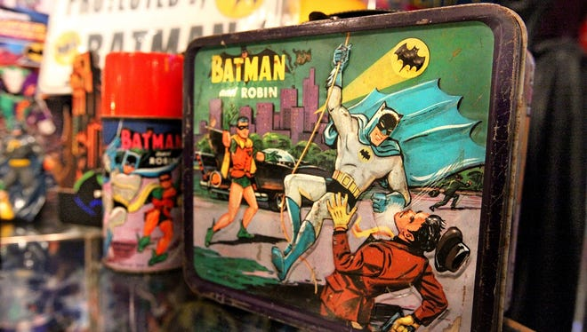 Kevin Silva's collection of Batman memorabilia, including the lunchbox used by the Indianapolis resident during his grade school years, has been purchased by the Children's Museum of Indianapolis.