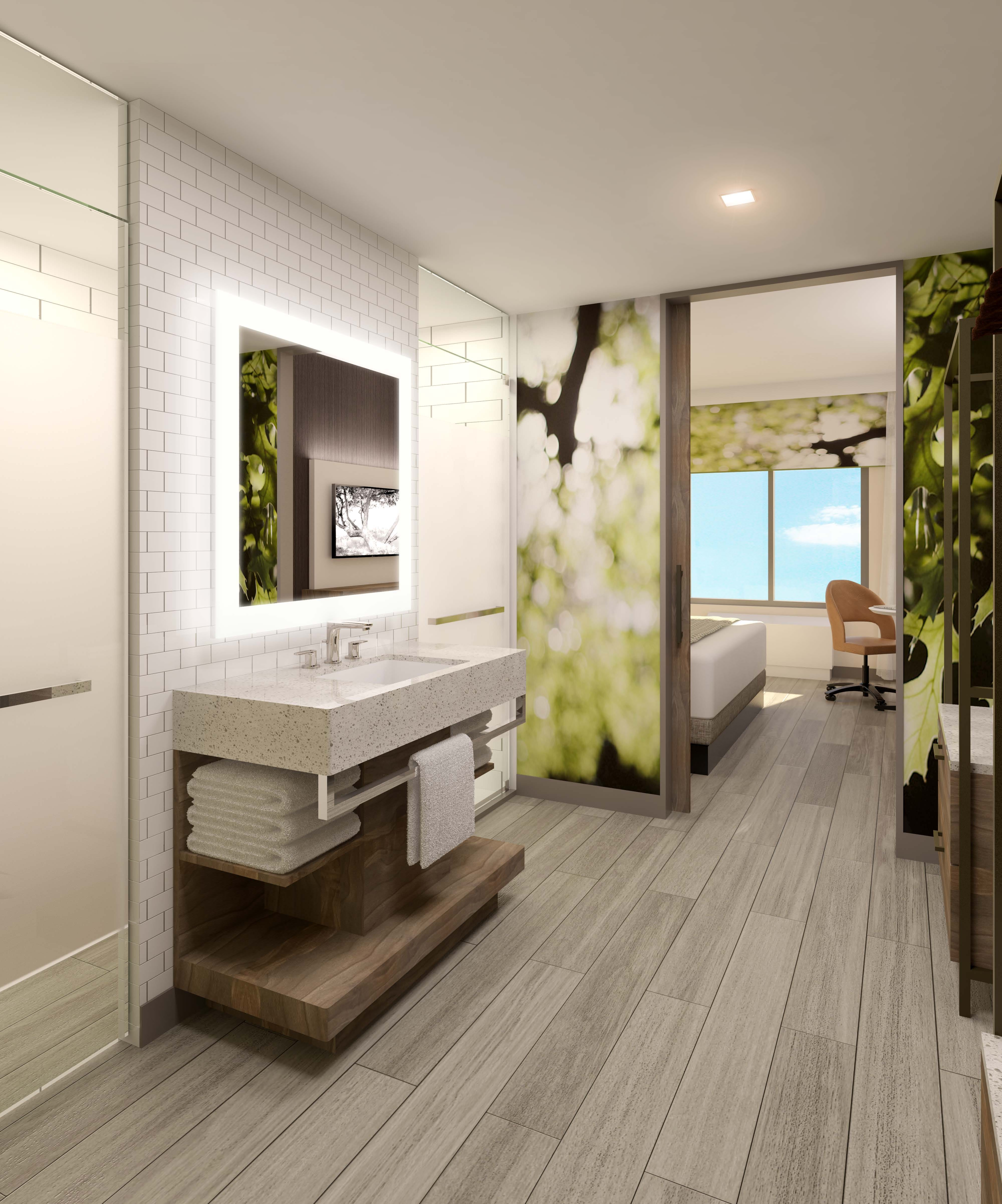Hotel bathrooms New amenities upgrade guest experience