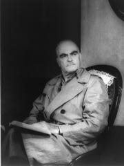 """Playwright Thornton Wilder played the role of George Antrobus in """"The Skin of Our Teeth."""""""