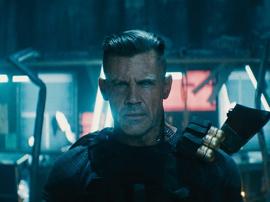 Time-traveling mutant Cable (Josh Brolin) becomes an