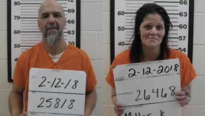 Newton residents Charles Loudermilk, 49,andKristen Miller, 34.