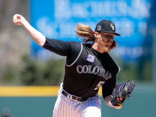 April 25: Jon Gray, Rockies, 11 vs. Padres