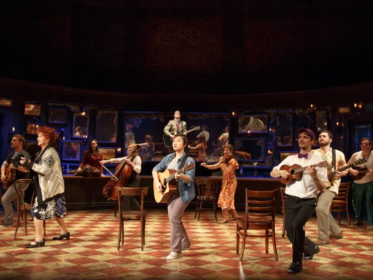 """In 'Once,"""" the musicians double as actors."""