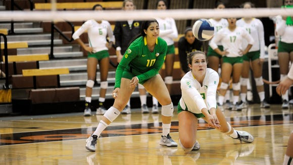 Oregon's Lindsey Vander Weide and the Ducks are set