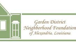 The Garden District Neighborhood Foundation will meet at 6 p.m. Thursday at First United Methodist Church, 2727 Jackson St. in Alexandria.