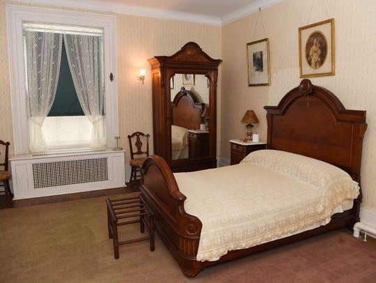 The room where former President Franklin D. Roosevelt