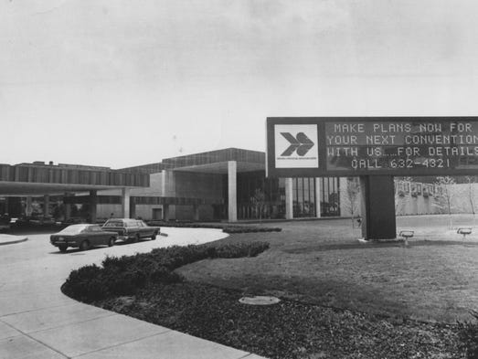 Indiana Convention Center and Exposition Hall in 1975.